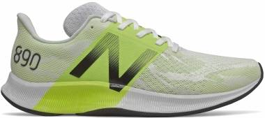 New Balance 890 v8 - White/Lemon Slush (M890WY8)