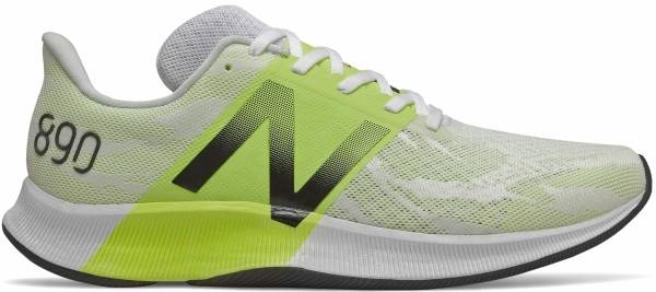 New Balance 890 v8 - White/Lemon Slush (M890WY8)