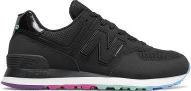 New Balance 574 Outer Glow - Black/Neo Mint (WL574SOO)