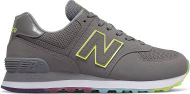 New Balance 574 Outer Glow - Marblehead/Lemon Slush (WL574SOM)