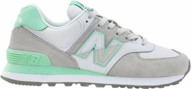 New Balance 574 Split Sail - Green,Grey (WL574NHA)