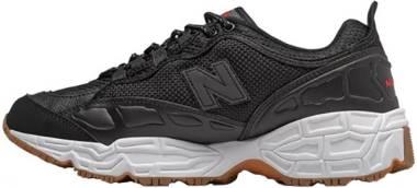 New Balance 801 - Black/White Munsell Leather