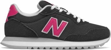 New Balance 527 - Black/Exhuberant Pink (WL527PCA)