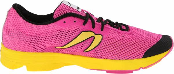 Newton Distance Elite woman pink/yellow