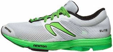 Newton Distance Elite White/Lime Men