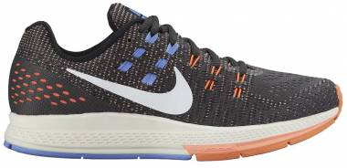 Nike Air Zoom Structure 19 - Gris Anthrct Sl Hypr Orng Chlk Bl (806584004)