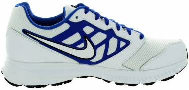 Nike Downshifter 6 - White White Game Royal Black