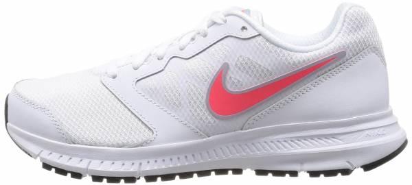 Nike Downshifter 6 - White/Light Magnet Grey/Hyper Punch Swoosh (684765100)