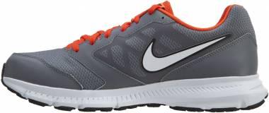 Nike Downshifter 6 - Cool Grey/Team Orange/White/Metallic Platinum (684652005)