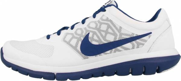 Nike Flex RN 2015 men off-white (white/deep royal blue)