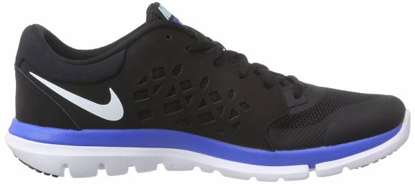 Nike Flex RN 2015 men negro / blanco / azul (black / white-copa-blue lagoon)