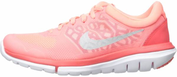 Nike Flex RN 2015 woman lavish glow/metallic silver bright crimson