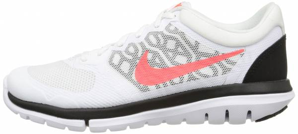 Nike Flex RN 2015 woman weiss (white/hot lava-black)