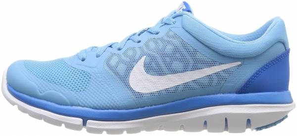 Nike Flex RN 2015 woman blue - blau (lakeside/white-photo blue)