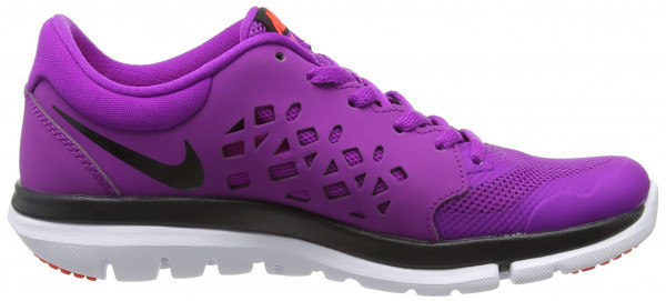 Nike Flex RN 2015 woman vivid purple/hot lava/bright crimson/black