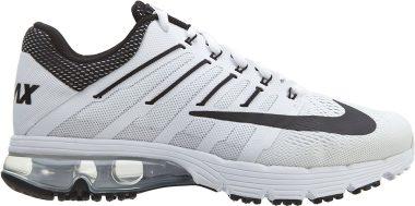Nike Air Max Excellerate 4 Weiß/Schwarz/Silber (White/Black/White/Pr Platinum) Men