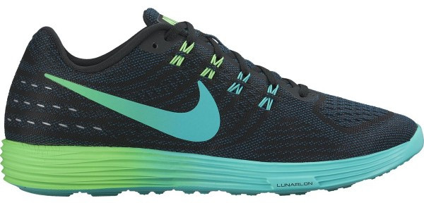 Nike LunarTempo 2 men black/clear jade/midnight turquoise/clear jade