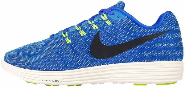 sports shoes aa96c 1aa5c Nike LunarTempo 2 Blue  Black  Lima (Racer Blue  Black-lt Bl