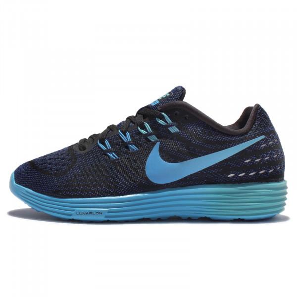 Nike LunarTempo 2 woman black/blue glow/deep royal blue/blue glow