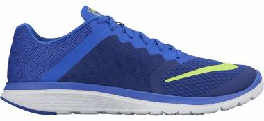 Nike FS Lite Run 3 - Azul (Azul (Deep Royal Blue/Volt-racer Blue-white))