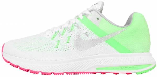 Nike Air Zoom Winflo 2 - white voltage green