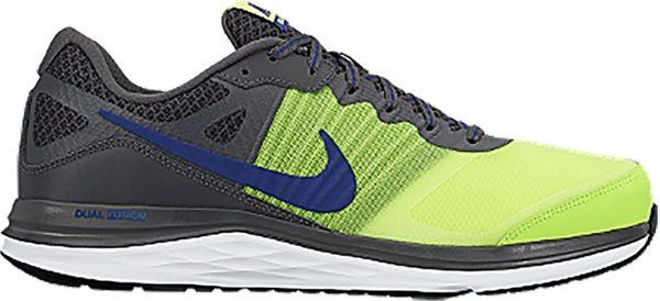 Nike Dual Fusion X Grau/Gelb