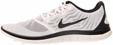 Nike Free 4.0 - White/Black/Platinum (717988100)