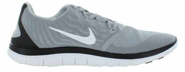 Nike Free 4.0 men black/metallic silver/cl grey