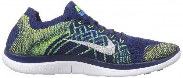 Nike Free 4.0 men brave blue, black, volt, white