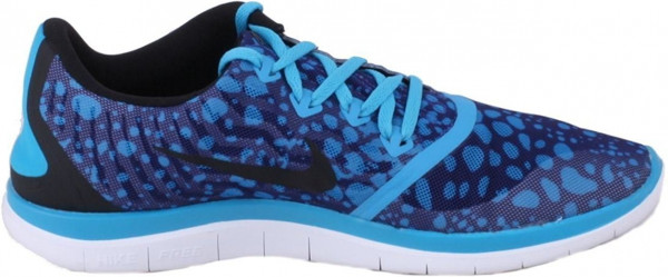 Nike Free 4.0 men deep royal blue/black/blue lagoon/white