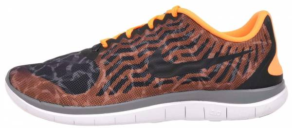 Nike Free 4.0 woman black/black-cool grey-bright citrus