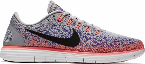 Nike Free RN Distance woman grigio (gris (wolf grey / black-prsn vlt-ht lv))