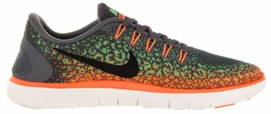 Nike Free RN Distance - Wolf Grey/Black-Atomic Orange (827115003)