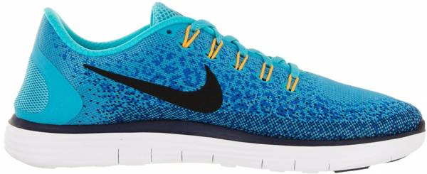 Nike Free RN Distance men gamma blue/black/heritage cyan