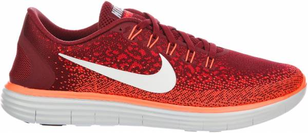 Nike Free RN Distance men rojo (team red / off white-university red)