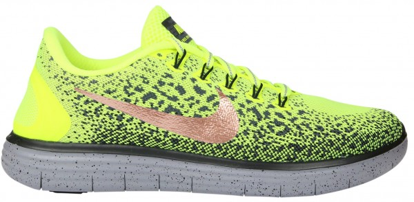 Nike Free RN Distance men gelb