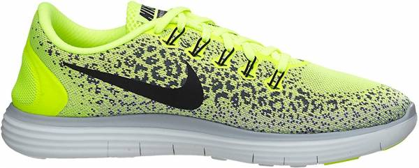 Nike Free RN Distance men amarillo (volt / black-dark grey-wolf grey)