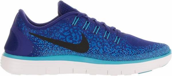 Nike Free RN Distance men deep royal blue/black/heritage cyan/gamma blue