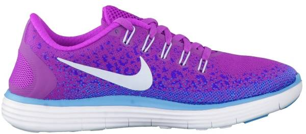 Nike Free RN Distance woman lila/blau