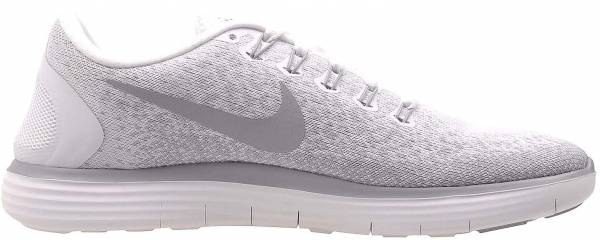 Nike Free RN Distance woman white/wolf grey/pure platinum