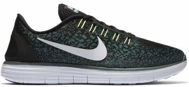 Nike Free RN Distance - Schwarz (Schwarz/Reines Platin-jade Glasur-hasta)