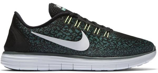 Nike Free RN Distance men black/pure platinum-jade glaze-hst