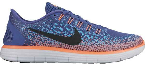 Nike Free RN Distance woman dark purple dust/black/gamma blue