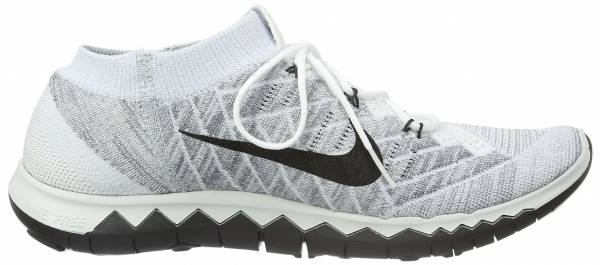 Nike Free Flyknit 3.0 men white / black