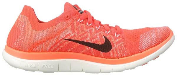 Nike Free Flyknit 4.0 woman red