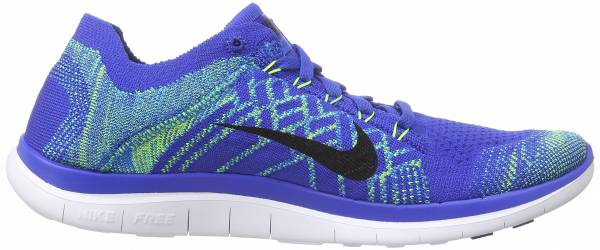 Nike Free Flyknit 4.0 men game royal / photo blue / hyper jade / black