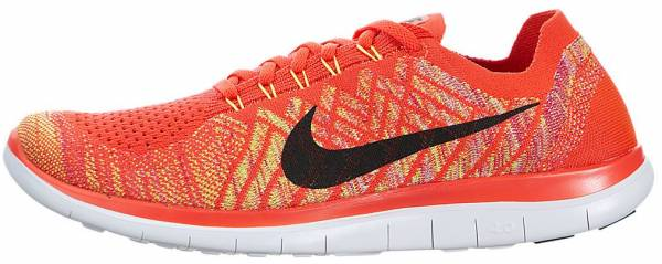 Nike Free Flyknit 4.0 - Orange (717075600)