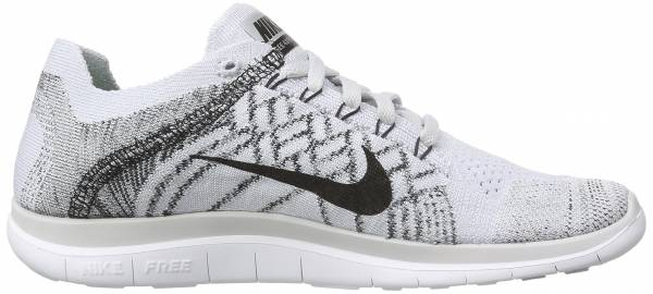 Nike Free Flyknit 4.0 men pure platinum/blk/white/cl gry