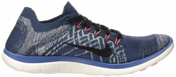 Nike Free Flyknit 4.0 men sqdrn blue/black-ocean fog-total crimson