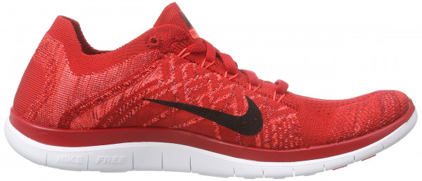 Nike Free Flyknit 4.0 men university red/black-hot lava
